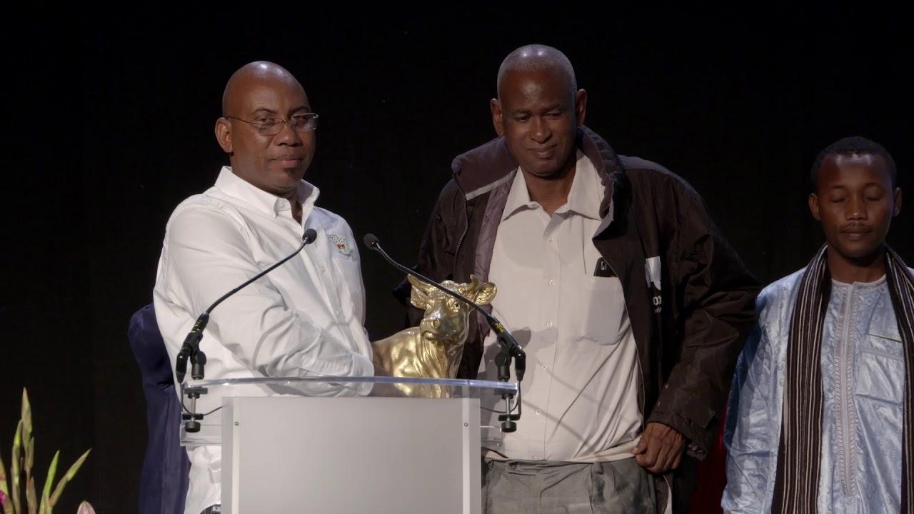 Prix Golden Faironika pour Adama Ibrahim Diallo