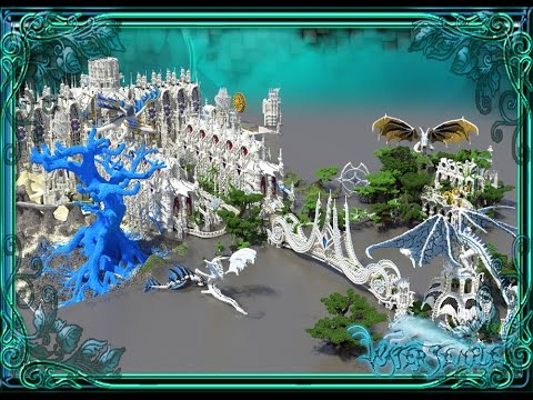 Temple of the spirit wolf One of the biggest project in minecraft