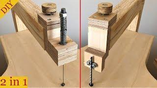 Scroll Saw & Jigsaw Table  (2 In 1)  Kıl Testere Makinası & Dekupaj Tezgahı