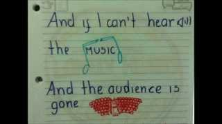 I Can't Hear The Music   James Blunt (Lyric Video)
