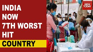India Is The 7th Worst Impacted Country In The World With COVID-19  IMAGES, GIF, ANIMATED GIF, WALLPAPER, STICKER FOR WHATSAPP & FACEBOOK