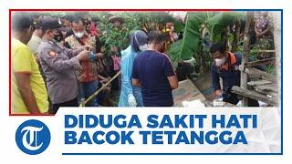 Pria di Tuban Gelap Mata Tiba-tiba Bacok Tetangga Sendiri, Diduga Lantaran Sakit Hati