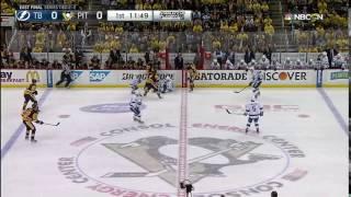 Fehr's big hit   vs Lightning