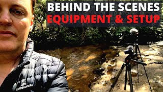 Behind the Scenes - My Setup & Equipment | How I make my videos - Filming & Sound Recording
