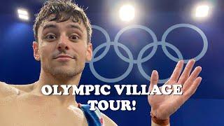 OLYMPIC VILLAGE TOUR! I Tom Daley