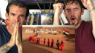 Maa Tujhe Salaam REACTION!    Vande Mataram    A. R. Rahman