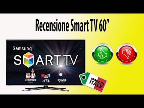 Recensione smart tv samsung 60 pollici