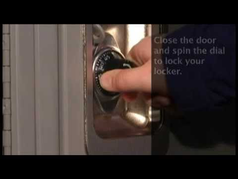 1676MKADA Built-In Combo Lock: Opening w/Combo Instructions
