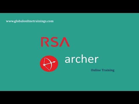 RSA Archer training Demo video | RSA Archer Administration Online ...