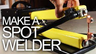 Make a Spot Welder for Cheap!!