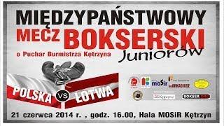 preview picture of video 'Mecz Drużynowy: Polska vs Łotwa 2014 - Kętrzyn'