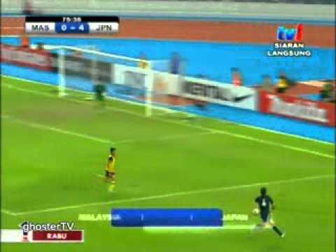 Bola sepak Kelayakan Olimpik 2012 Malaysia Vs Jepun Part 2