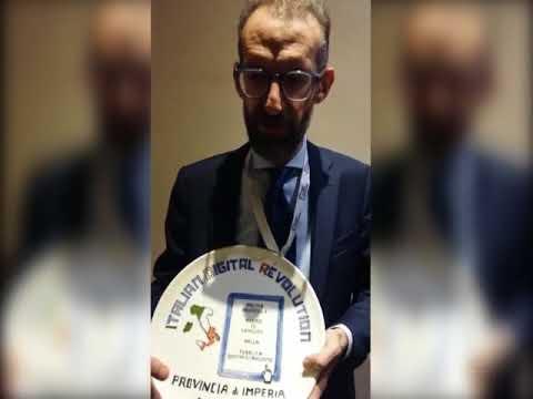 """LA PROVINCIA DI IMPERIA VINCE IL PREMIO """"RATING DI LEGALITA"""" 2018"""