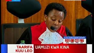 Deputy Chief Justice, Philomena Mwilu on transmission of results [Part 3]