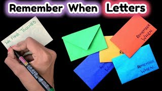 Romantic and Quick DIY Love Letter | Friendship Day Gift Ideas |