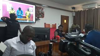 Bobi Wine In Court At Video Conferencing Part 15