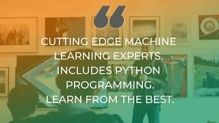 Promo Video Machine Learning 2019