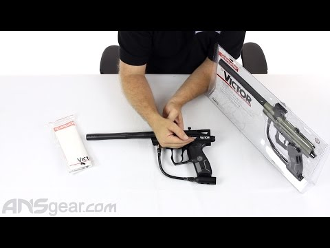 2012 Kingman Spyder Victor Semi Auto Paintball Gun – Review