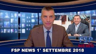 FSP news del 1 settembre 2018