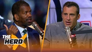 Rob Parker loves Lance Johnson criticizing the Patriots culture, Lakers playoff chances   THE HERD