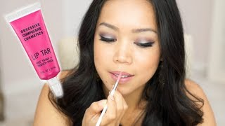 Obsessive Compulsive Cosmetics Lip Tar Review - Itsjudytime