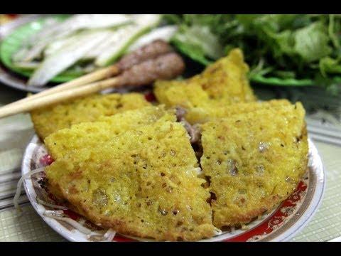 How to make Vietnamese Crepe – Banh xeo