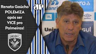 Renato Gaúcho polemiza após vice do Grêmio