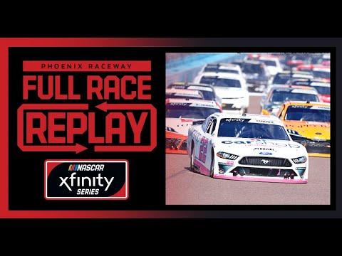NASCAR フェニックス(フェニックスレースウェイ)Xfinity レースをフルで見ることができる動画