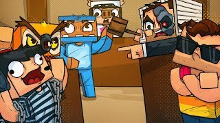Nogla Broke The Chick-Fil-A, So We Had A Court Trial In Minecraft!