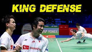 Hiroyuki Endo / Yuta Watanabe The KING Defense of Badminton