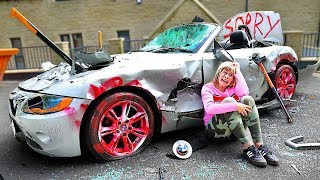 Video Surprising My Mom With A New Car, Then Destroying It... MP3, 3GP, MP4, WEBM, AVI, FLV Agustus 2019
