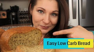 Low Carb Bread - Keto Bread Recipe In Bread Machine (Easy To Make)