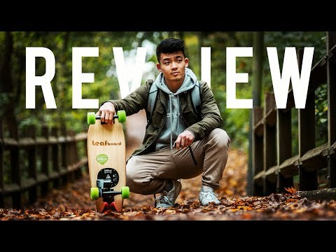 Small Electric Skateboard | Leafboard Review | ChenKangFilms