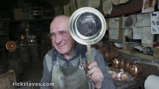 Thumbnail of the video 'Meet a Tuscan Coppersmith'