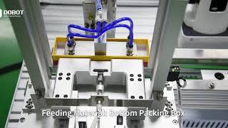 DOBOT Magician en DOBOT M1 in een productielijn met PLC-techniek