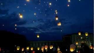 preview picture of video 'Lancio di 400 lanterne cinesi a Piazzola sul Brenta sabato 19 maggio 2012'