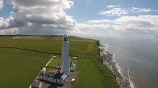 preview picture of video 'DJI Phantom 2 Vision at Nash Point on clear day'