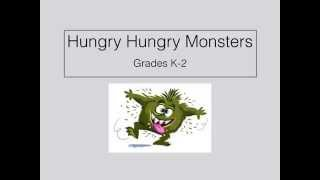 Hungry Hungry Monsters: Gross Motor