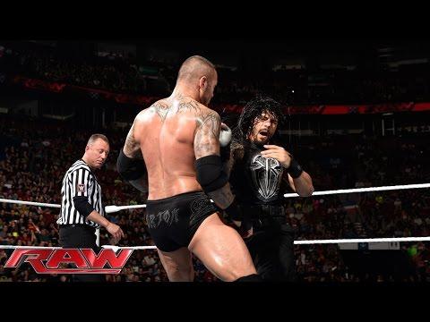 Roman Reigns vs. Randy Orton: Raw, May 4, 2015