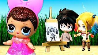 У куклы лол сюрприз беда – Ваня нарисовал другую девочку! Мультик с игрушками лол куклы