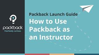 Packback Launch Guide