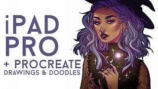 IPAD PRO + PROCREATE DOODLES // Jacquelin de Leon