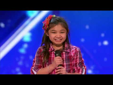 America got talent- speechless Audition-: Angelica Hale!!!