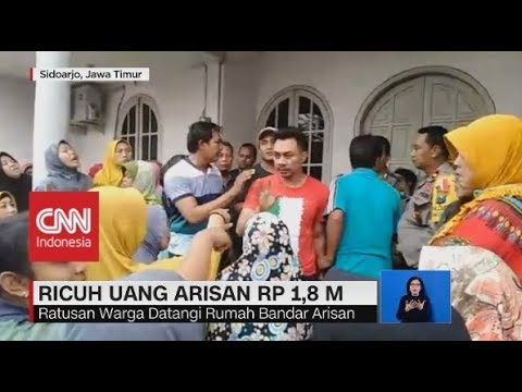 Ricuh Uang Arisan Rp. 1,8 M