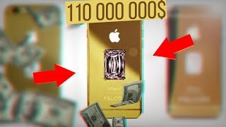 IPHONE X ЗА 110 000 000 $