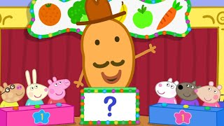 Peppa Pig Official Channel   Who's the Winner at Vegetable and Fruit Quiz?