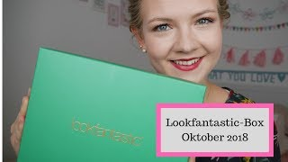 Lookfantastic-Box Oktober 2018 // Unboxing (deutsch)  // Hidden Gems // Annanas Beauty