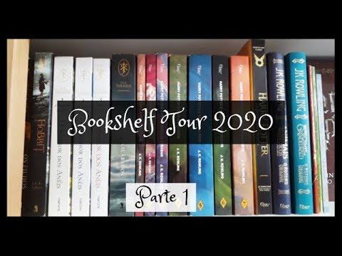 Bookshelf Tour 2020: Parte 1 | VEDA 1 | Um Livro e Só