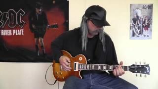 AC/DC - Big Gun cover by RhythmGuitarX