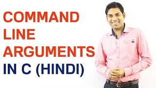Download Youtube: Command Line Arguments in C (HINDI)